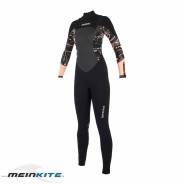 Mystic Diva Fullsuit 5/3mm Double Fzip Women 2019-M-black