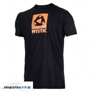 Mystic Star S/S Quickdry Lycra-S-schwarz/orange