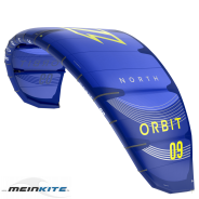 North Orbit Kite 2021 9m² Blau Testkite