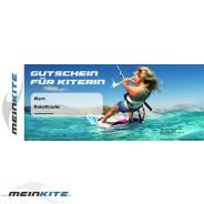Geschenkgutschein für Kitesurfer-Kiterin
