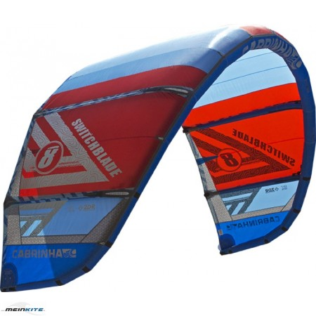 cabrinha switchblade 2017|12 qm kite ohne bar | blau|rot_small_thumb