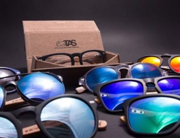 Kitesurf Sunglasses made of Wood